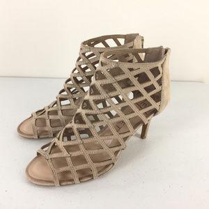 Sole Society 8.5 Portia Suede High Heel sandals